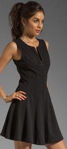 Theory Bonbi W Silk Front Zip Fit&Flare Dress Sz.6